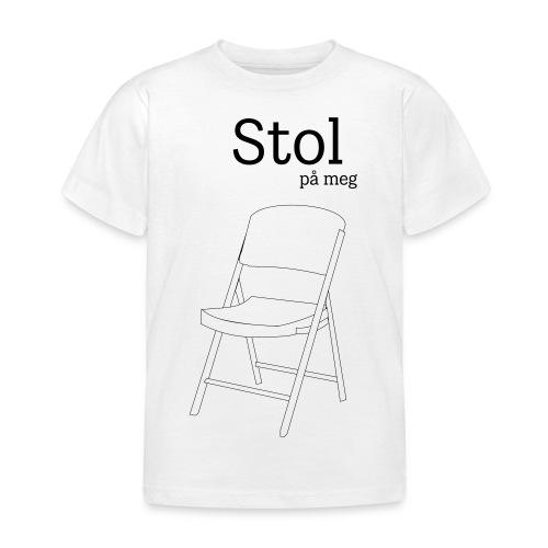 Stol på meg - T-skjorte for barn