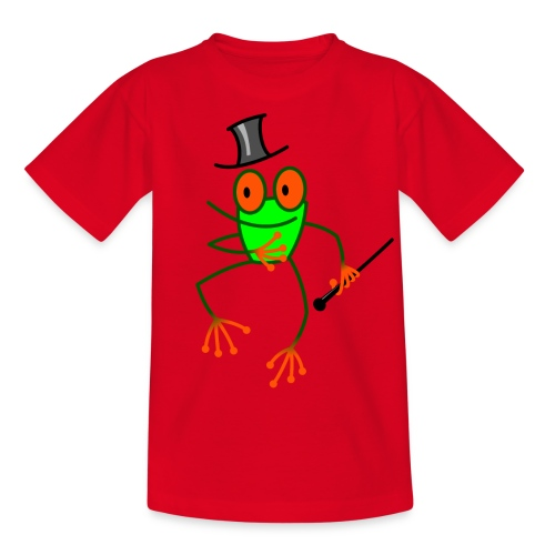 Dancing Frog - Kids' T-Shirt