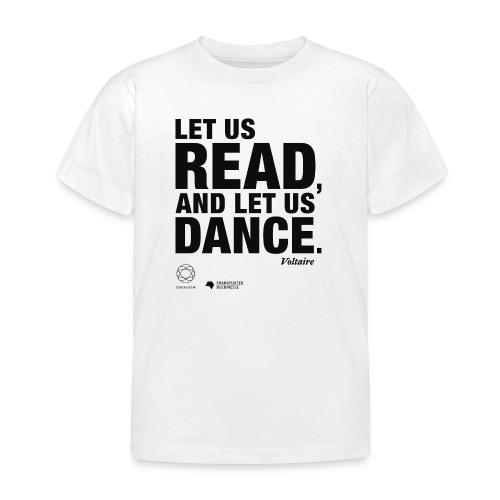LET US READ | Bookish Merch - Kinder T-Shirt