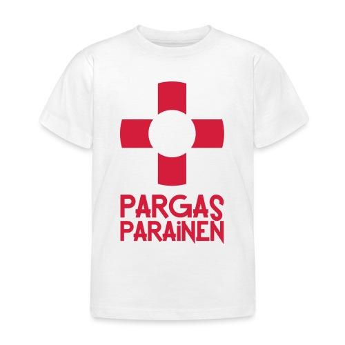 Livboj: Pargas (röd text) - Lasten t-paita