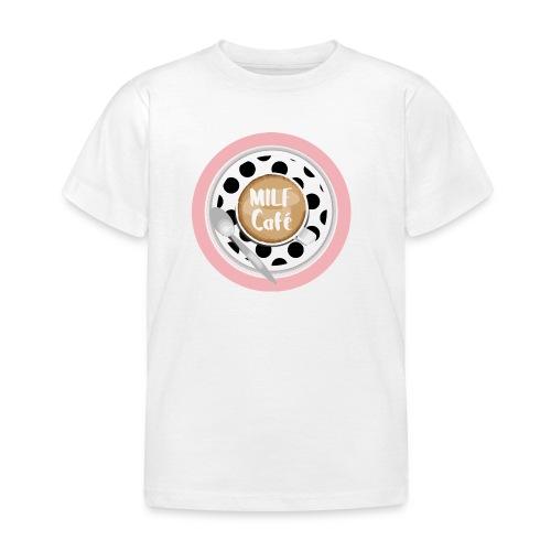 Milfcafé - MILF Logo Instagram Blogger Musthave - Kinder T-Shirt