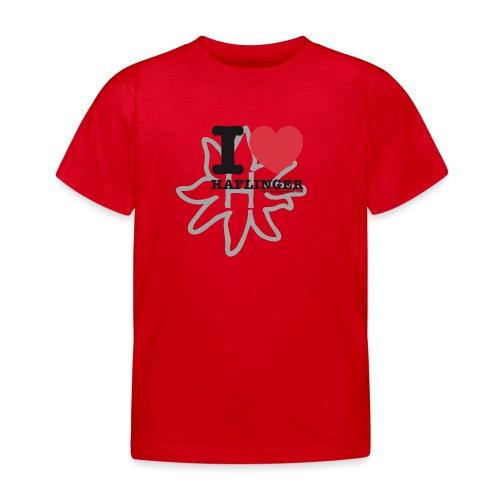 I love Haflinger - Kinder T-Shirt