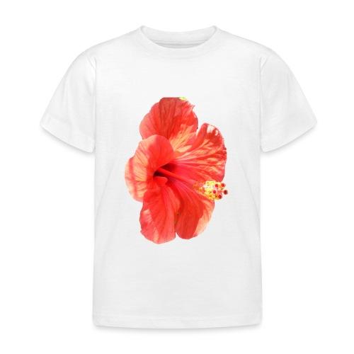 A red flower - Kids' T-Shirt