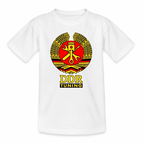 DDR Tuning Coat of Arms 3c - Kids' T-Shirt
