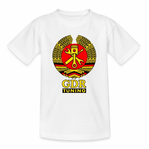 GDR Tuning Coat of Arms 3c - Kids' T-Shirt