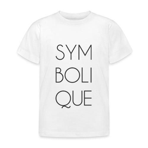Symbolique - T-shirt Enfant
