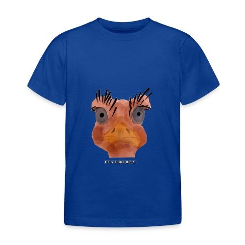 Srauss, again Monday, English writing - Kids' T-Shirt
