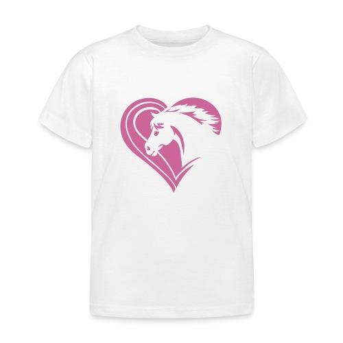 Iheart horses - Kinder T-Shirt