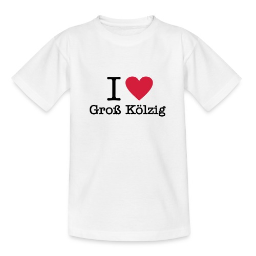 I love Gross Koelzig - Kinder T-Shirt