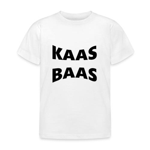 KaasBaas - Kinderen T-shirt