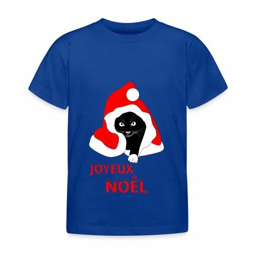 Joyeux Noël - Chat noir - Kids' T-Shirt