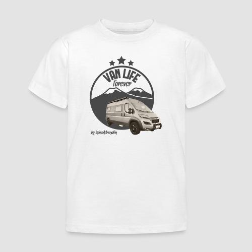 Vanlife forever retro - Kinder T-Shirt