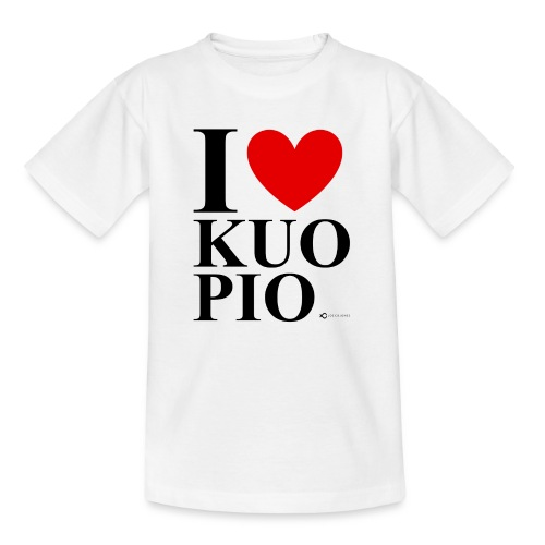I LOVE KUOPIO ORIGINAL (musta) - Lasten t-paita