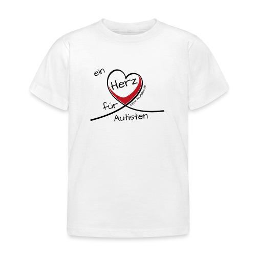 Ein Herz für Autisten - Kinder T-Shirt