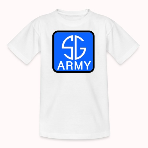SemGamerArmy logo in box - Kinderen T-shirt