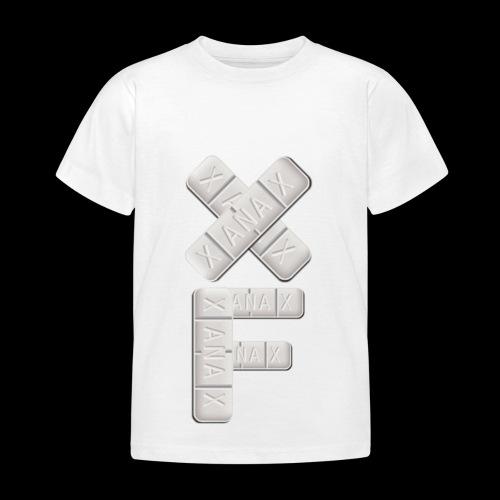 XF Xanax Logo - Kinder T-Shirt