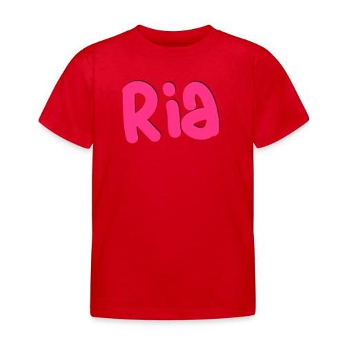 Ria Roo 3D - Kids' T-Shirt
