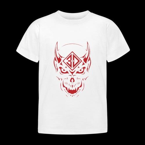 devil skull red - T-shirt Enfant
