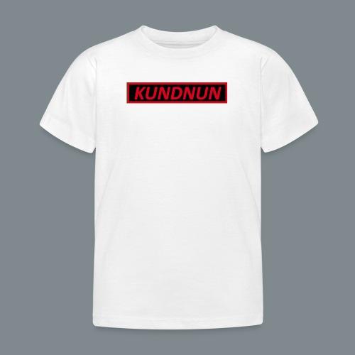 Kundnun zwart rood - Kinderen T-shirt