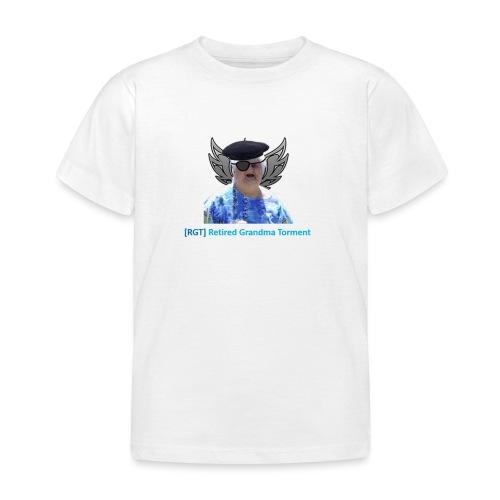 World of tanks- RGT (Retired Grandma Torment) gear - Kids' T-Shirt