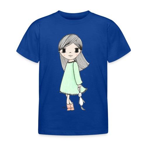 meisje met knuffel - Kinderen T-shirt