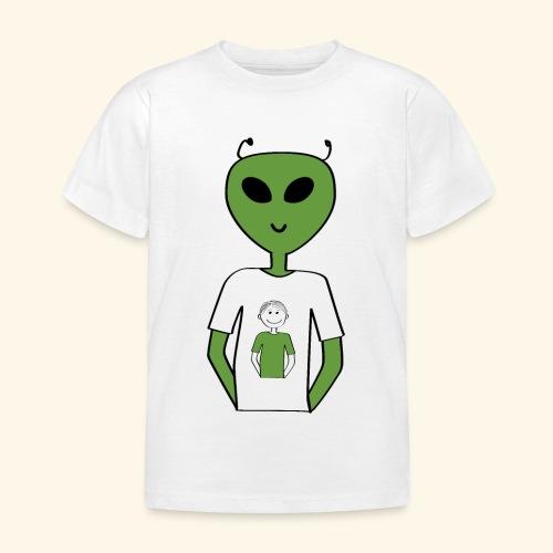 Alien human T shirt - T-shirt barn