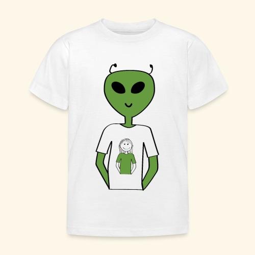 Alien human T-shirt T-shirt - T-shirt barn