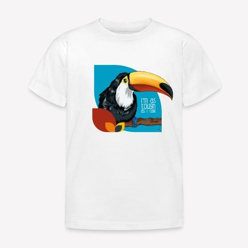 Tukan - großer Schnabel - Kinder T-Shirt
