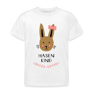 Hasenkind Maedchen - Kinder T-Shirt