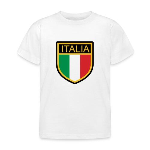 SCUDETTO ITALIA CALCIO - Maglietta per bambini