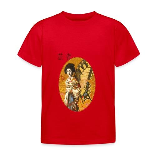 Vintage Japanese Geisha Oriental Design - Kids' T-Shirt