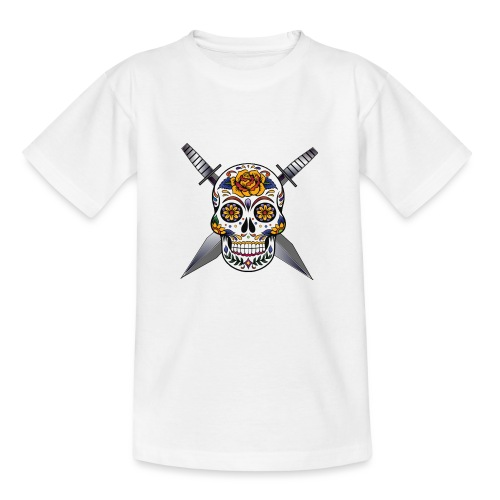 Cross skull swords - T-shirt Enfant