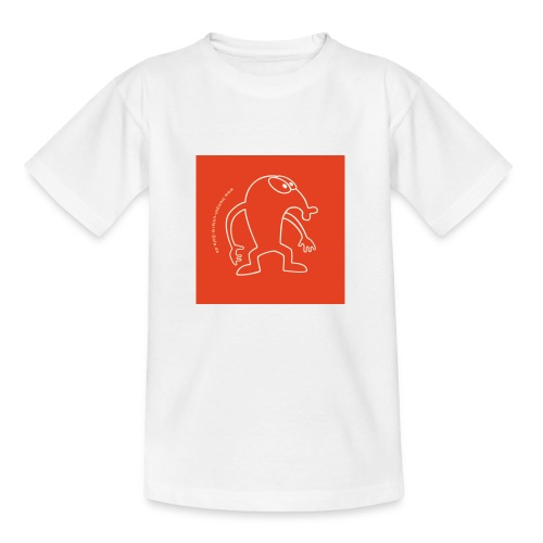 button vektor rot - Kinder T-Shirt