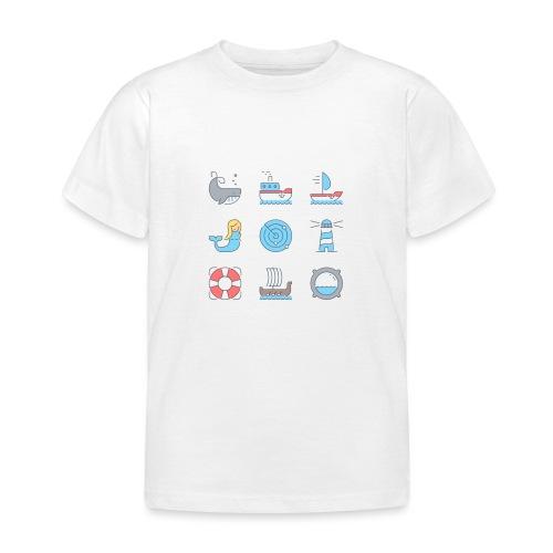marine - T-shirt Enfant