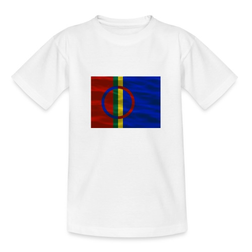 Sapmi flag - T-skjorte for barn