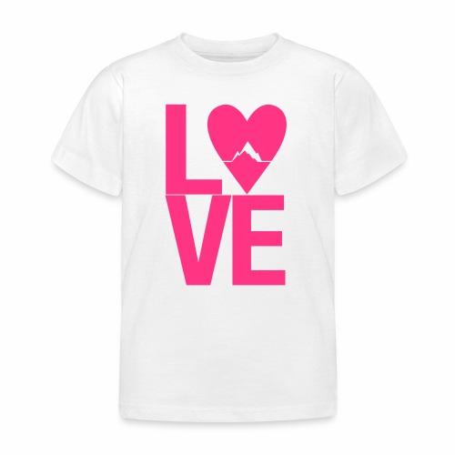 Mountain Love - Kinder T-Shirt
