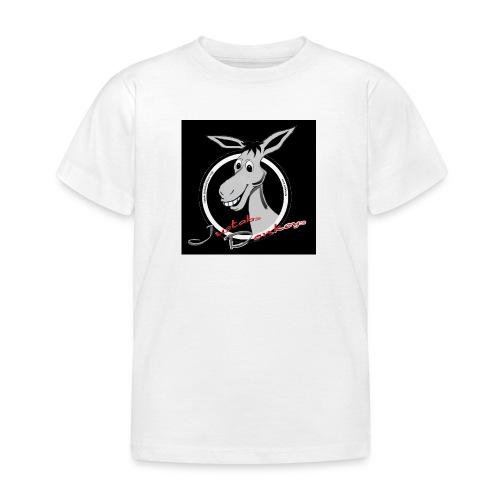 Justabs Donkeys black - Kinder T-Shirt