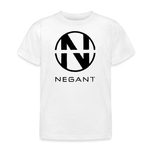 Black Negant logo - Børne-T-shirt