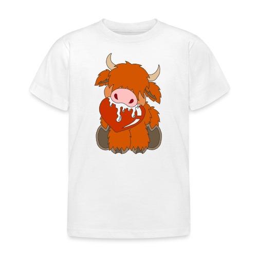 Shortcake - Von Herzen - Kinder T-Shirt