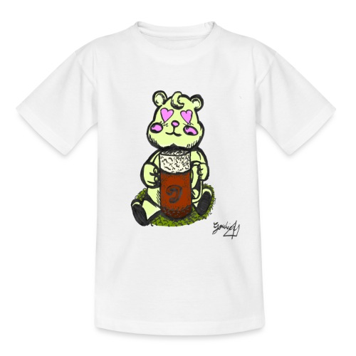 Ours Amoureux AngelerasCorp - T-shirt Enfant