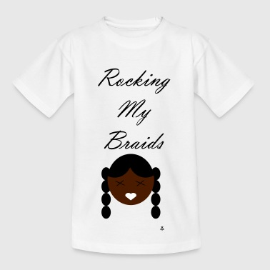 Rocking my Braids - Kids' T-Shirt