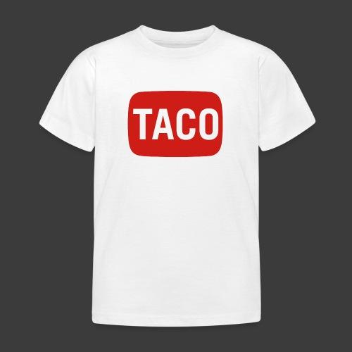 Taco Karsten Youtube Logo 2 - Børne-T-shirt