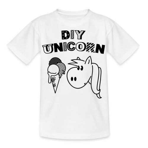 DIY Unicorn Einhorn - Kinder T-Shirt