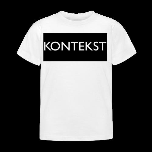 Kontekst Collection - T-skjorte for barn