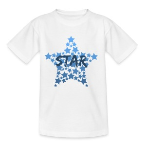 Blue star - Kids' T-Shirt