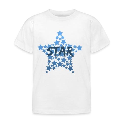 Blue star - Kids' T-Shirt