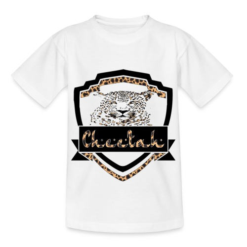 Cheetah Shield - Kids' T-Shirt