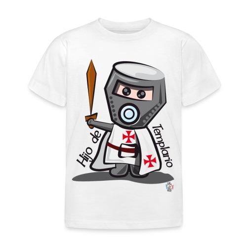 Hijo de templario (Casco) - Camiseta niño