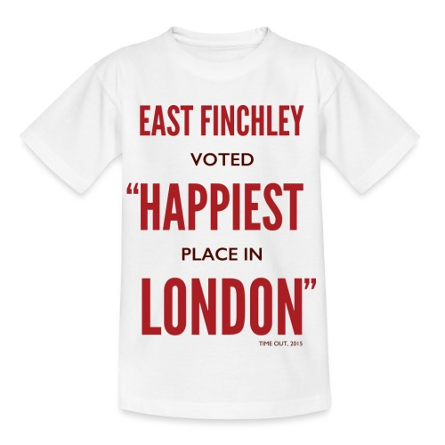 East Finchley Happiest Place in London - Kids' T-Shirt