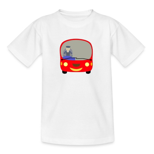 bus front - Kids' T-Shirt